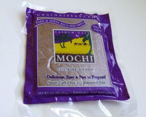 Cashew-date mochi