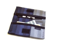 Classic Credit Card Wallet in grayscale.