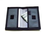 Exterior - Seat belt webbing. Interior - Cordura® webbing. Velcro closure.