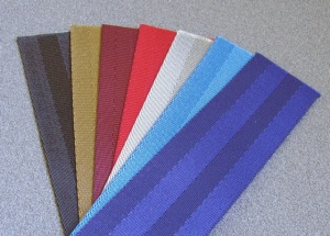 Here is a small selection of available webbing options.