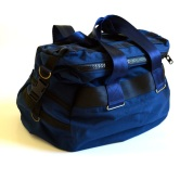 Custom duffel bag.