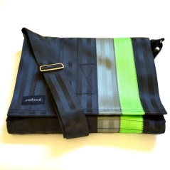 The M-7 seatbelt messenger bag