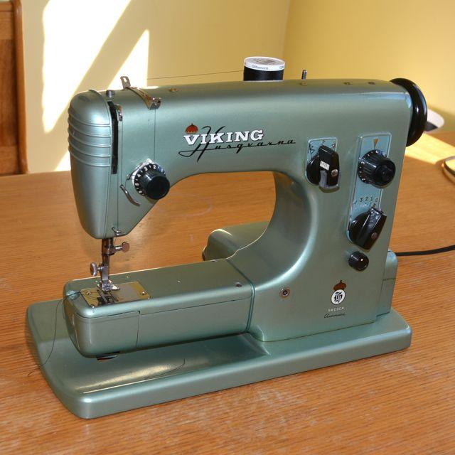 Vintage Husqvarna Retool Simple Vintage Viking Sewing Machine
