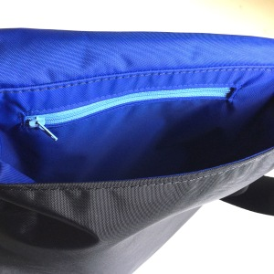 Interior zipper pocket